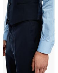 s.Oliver BLACK LABEL Slim: Hose aus Schurwolle in Blue für Herren