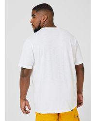 S.oliver Logo T-Shirt in White für Herren