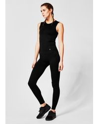 S.oliver Black Seamless Funktions-Tanktop