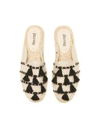 Soludos Natural Coco Tassel Mule