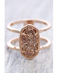 Kendra Scott | Multicolor Elyse Drusy Ring | Lyst