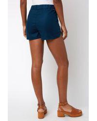 South Moon Under Blue Trouser Short