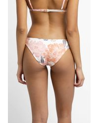 South Moon Under White Marigot Floral Isla Hipster Bottom