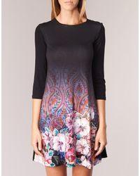 Desigual Grafo Women's Dress In Black