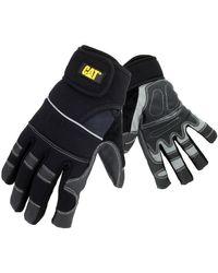 12217 Adjustable Glove hommes Gants en Noir Caterpillar pour homme en coloris Black