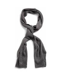 Echarpe ÉCHARPE HOMME Gant pour homme en coloris Gray