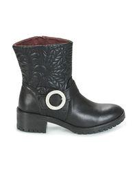 Desigual Breaker Lottie Women's Mid Boots In Black