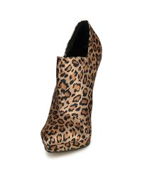 Lipsy - Brown Sammy Women's Low Ankle Boots In Multicolour - Lyst