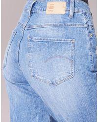 G-Star RAW Boyfriend Jeans Midge High Boyfriend in het Blue