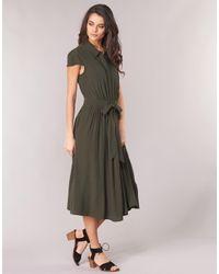 Robe Naf Naf en coloris Green