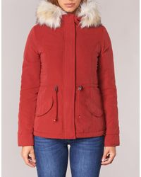 ONLY New Luca Women's Parka In Red