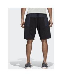 Short NMD hommes Short en Noir Adidas pour homme en coloris Black
