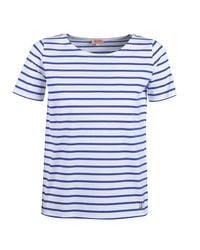 Armor Lux T-shirt Korte Mouw Yariloune in het White