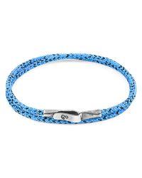 Anchor & Crew Anchor Crew Blue Noir Liverpool Bracelet Bracelet
