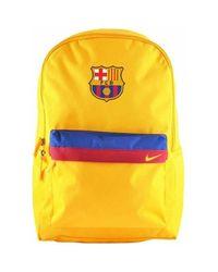 Nike Rucksack Mochila Oficial Barca Gold 19-20 - TU in Yellow für Herren
