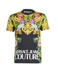 Versace Jeans Multicolor B3gva7ka T Shirt for men