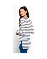 Superdry - G60001io T-shirt Women Blue Women's Sweater In Blue - Lyst