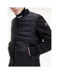 Versace Black Mw0mw12010 Bomber Jacket