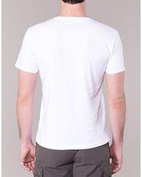 Napapijri - Saleny Men's T Shirt In White for Men - Lyst