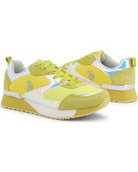FRIDA4081W9 TY2 YEL Chaussures U.S. POLO ASSN. en coloris Yellow