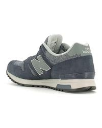 New Balance Gray Nbml565bg Sneakers Man Grey Men's Shoes (trainers) In Grey for men