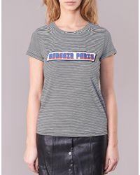 Moony Mood - Gray Ilanou Women's T Shirt In Grey - Lyst