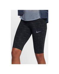 Power Epic Lux Half Tight Women Collants Nike en coloris Black