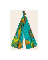 Echarpe Foulard soie femme La Fiancee Du Mekong en coloris Green