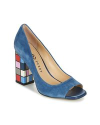 Katy Perry The Caitlin Women's Court Shoes In Blue