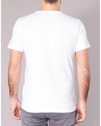 Calvin Klein Takoda Slim Men's T Shirt In White for men
