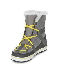 Sorel - Gray Glacy Explorer Shortie Women's Snow Boots In Grey - Lyst