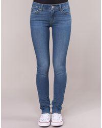 Levi's Skinny Jeans Levis 711 Skinny in het Blue