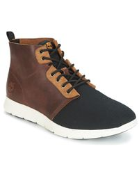 Timberland Killington L/f Chukka Men's Shoes (high-top Trainers) In Brown for men