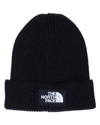 Bonnet logotypé Bonnet The North Face pour homme en coloris Black