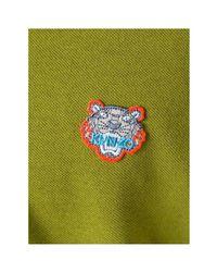 KENZO Paris - Men's Polo Tiger Men's Polo Shirt In Green for men