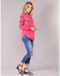 Desigual Rudeso Women's Shirt In Pink