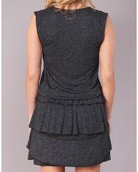 Desigual Gray Safros Women's Dress In Grey