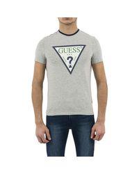 M92i24 club hommes T-shirt en Gris Guess pour homme en coloris Gray