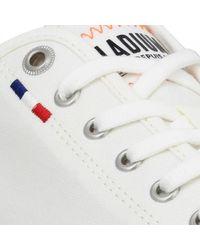 Palla Ace Canvas toile Blanc Chaussures Palladium en coloris White