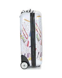 David Jones Multicolor Boomroo 36l Men's Hard Suitcase In Multicolour for men
