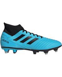 Predator 19.3 SG hommes Chaussures de foot en bleu Adidas pour homme en coloris Blue