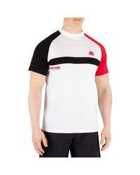 Pour des hommes T-shirt authentique Balant, blanc hommes T-shirt en blanc Kappa pour homme en coloris White