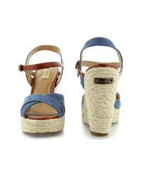 Pepe Jeans - Walker Romantic Pls90177 Women's Sandals In Brown - Lyst