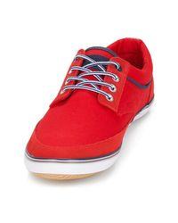 André Lage Sneakers Malte in het Red voor heren
