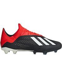 X 18.2 FG hommes Chaussures de foot en Noir Adidas pour homme en coloris Black