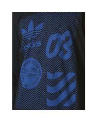 Adidas Bj9924 T-shirt Man Black Men's In Black for men