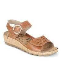 Romika Natural Gina 02 Women's Sandals In Beige