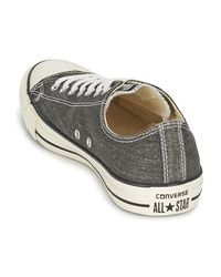 Converse Gray Ct Good Wash Ox Men's Shoes (trainers) In Grey for men