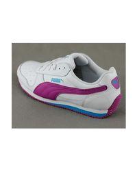 PUMA Fieldsprint Women's Shoes (trainers) In White