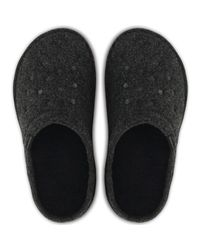 Crocs™ Classic Slipper Roomy Fit Clogs Shoes In Black 203600 060 Men's Clogs (shoes) In Black for men